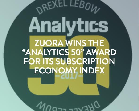 Analytics 50 Zuora